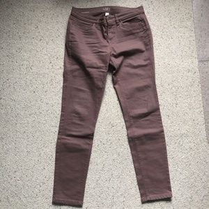Loft Blush Rose Modern Skinny Jeans